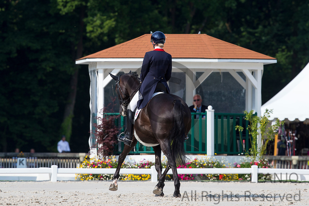 Chloe Grace Vell - Kaja di Valentina<br /> FEI European Dressage Championships for Young Riders and Juniors 2013<br /> &copy; DigiShots
