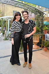 PICTURE SHOWS:-NIKKI HUNTER and ROBERT KONJIC.<br /> Tuesday 14th April 2015 saw a host of London influencers and VIP faces gather together to celebrate the launch of The Ivy Chelsea Garden. Live entertainment was provided by jazz-trio The Blind Tigers, whilst guests enjoyed Moët & Chandon Champagne, alongside a series of delicious canapés created by the restaurant's Executive Chef, Sean Burbidge.<br /> The evening showcased The Ivy Chelsea Garden to two hundred VIPs and Chelsea<br /> residents, inviting guests to preview the restaurant and gardens which marry<br /> approachable sophistication and familiar luxury with an underlying feeling of glamour and theatre. The Ivy Chelsea Garden's interiors have been designed by Martin Brudnizki Design Studio, and cleverly combine vintage with luxury, resulting in a space that is both alluring and down-to-earth.