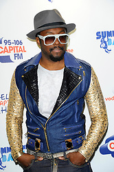 Capital Summertime Ball<br /> Will I am during photocall ahead of performing at the Capital Summertime Ball, Wembley Stadium,<br /> London, United Kingdom<br /> Sunday, 9th June 2013<br /> Picture by Chris  Joseph / i-Images