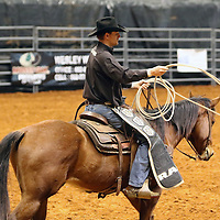 Libby Ezell | BUY AT PHOTOS.DJOURNAL.COM<br /> The wranglers job during the rodeo was to make sure that all the livestock made it back into there cages once a competitor had finished