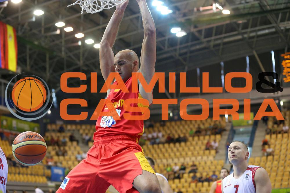 DESCRIZIONE : Celje Slovenia Eurobasket Men 2013 Preliminary Round Spagna Polonia Spain Poland<br /> GIOCATORE : Xavier Rey<br /> CATEGORIA : schiacciata dunk<br /> SQUADRA : Spagna Spain<br /> EVENTO : Eurobasket Men 2013<br /> GARA : Spagna Polonia Spain Poland<br /> DATA : 08/09/2013 <br /> SPORT : Pallacanestro <br /> AUTORE : Agenzia Ciamillo-Castoria/ElioCastoria<br /> Galleria : Eurobasket Men 2013<br /> Fotonotizia : Celje Slovenia Eurobasket Men 2013 Preliminary Round Spagna Polonia Spain Poland<br /> Predefinita :