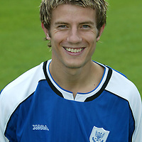 St Johnstone photocall 2004-2005 season.<br />Lee Hardy<br /><br />Picture by Graeme Hart.<br />Copyright Perthshire Picture Agency<br />Tel: 01738 623350  Mobile: 07990 594431
