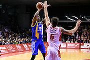 Dominique Archie<br /> Grissin Bon Pallacanestro Reggio Emilia - Betaland Capo d' Orlando<br /> Lega Basket Serie A 2016/2017<br /> Reggio Emilia, 05/12/2016<br /> Foto Ciamillo-Castoria