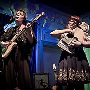 Moulettes Album Launch, Bush Hall, London 2012