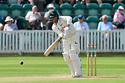 Jake Libby of Nottinghamshire bating during the Specsavers County Champ Div 1 match between Somerset County Cricket Club and Nottinghamshire County Cricket Club at the Cooper Associates County Ground, Taunton, United Kingdom on 10 June 2018. Picture by Graham Hunt.