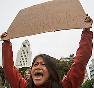 Los Angeles Protest Against Police Shooting