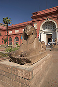 Exterior of Egyptian Museum, Cairo, Egypt