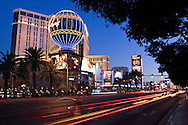 The Las Vegas Strip in Las Vegas, Nevada.