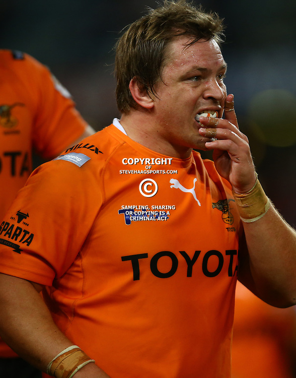 DURBAN, SOUTH AFRICA - SEPTEMBER 10: Torsten van Jaarsveld of the Toyota Free State Cheetahs during the Currie Cup match between the Cell C Sharks and Toyota Cheetahs at Growthpoint Kings Park on September 10, 2016 in Durban, South Africa. (Photo by Steve Haag/Gallo Images)