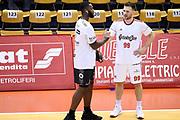 Kelly Rashard Mekel Gal<br /> Grissin Bon Pallacanestro Reggio Emilia - Dolomiti Energia Trentino<br /> Lega Basket Serie A 2019/2020<br /> Reggio Emilia, 28/09/2019<br /> Foto A.Giberti / Ciamillo - Castoria