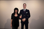 JENNIFER RUBELL; PRINCE WILLIAM WAXWORK'Engagement' exhibition of work by Jennifer Rubell. Stephen Friedman Gallery. London. 7 February 2011. -DO NOT ARCHIVE-© Copyright Photograph by Dafydd Jones. 248 Clapham Rd. London SW9 0PZ. Tel 0207 820 0771. www.dafjones.com.