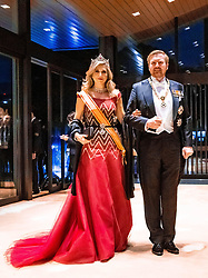 October 22, 2019, Tokyo, Japan: Queen Maxima and King Willem-Alexander arrive at the Imperial Palace for the Court Banquets, the 'Kyoen-no-gi' banquet, after the ceremony of the enthronement of Emperor Naruhito in Tokyo. (Credit Image: © face to face via ZUMA Press)