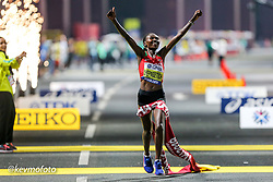 2019 IAAF World Athletics Championships held in Doha, Qatar from September 27- October 6<br /> Day 1 - Womens Marathon