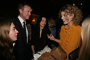 ANOUSKHA BECKWITH, GARY KEMP, LAUREN KEMP AND ROSAMUND PIKE, Young Vic fundraising Gala after performance of Vernon God Little. The cut. London. 10 May 2007.  -DO NOT ARCHIVE-© Copyright Photograph by Dafydd Jones. 248 Clapham Rd. London SW9 0PZ. Tel 0207 820 0771. www.dafjones.com.