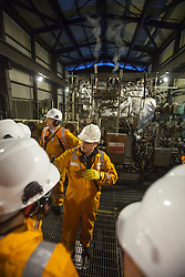 INEOS Grangemouth plant as part of an INEOS Media Trip.