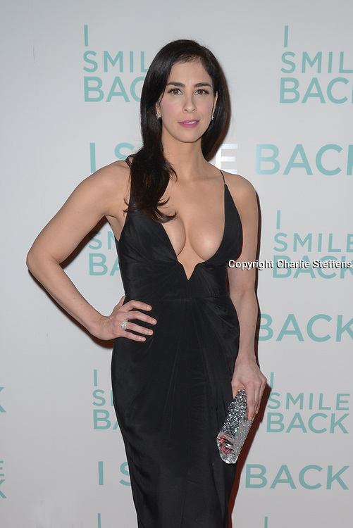 Sarah Silverman attends the Los Angeles Screening of Broad Green Pictures' 'I Smile Back' on Wednesday, October 21, 2015, at the ArcLight Hollywood in Los Angeles. <br /> (Photo: Charlie Steffens)