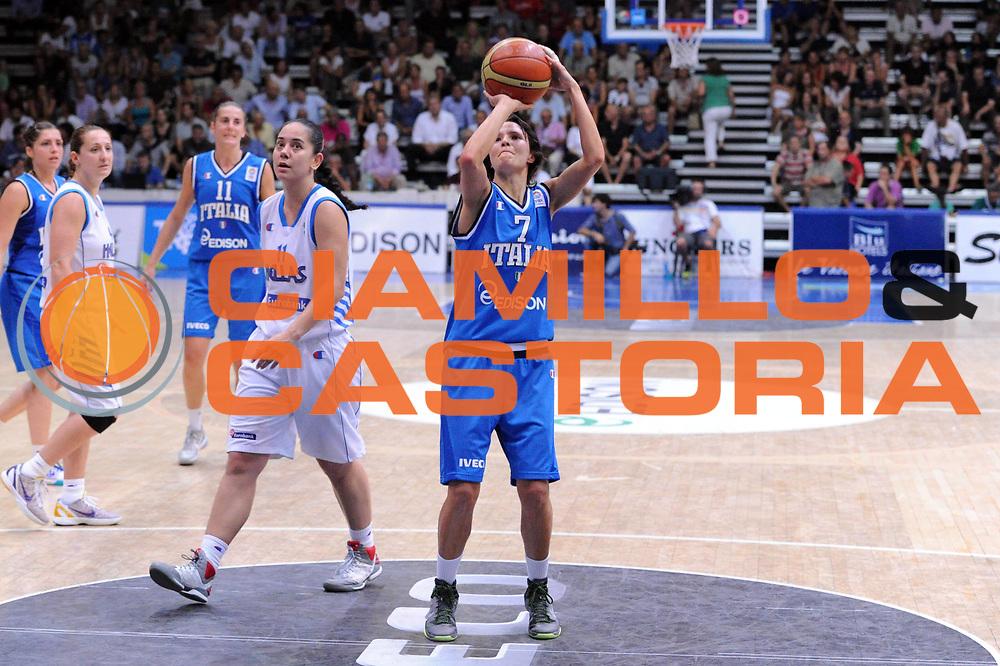 DESCRIZIONE : Latina Qualificazioni Europei Francia 2013 Italia Grecia<br /> GIOCATORE : Giorgia Sottana<br /> CATEGORIA : ritratto tiro libero<br /> SQUADRA : Nazionale Italia<br /> EVENTO : Latina Qualificazioni Europei Francia 2013<br /> GARA : Italia Grecia<br /> DATA : 11/07/2012<br /> SPORT : Pallacanestro <br /> AUTORE : Agenzia Ciamillo-Castoria/GiulioCiamillo<br /> Galleria : Fip 2012<br /> Fotonotizia : Latina Qualificazioni Europei Francia 2013 Italia Grecia<br /> Predefinita :