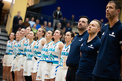 Damir Grgić head coach of Slovenia during basketball match qualifications for European Championship, round 1, between national teams Slovenia and Greece in Arena Celje - Center, 14. November, Ljubljana, Slovenia. Photo by Grega Valancic / Sportida
