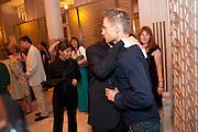 LEE BOARDMAN;; MARC WARREN, Aldwych theatre's Cool Hand Luke first night party. Waldorf Hilton. London. 3 October 2011. <br /> <br />  , -DO NOT ARCHIVE-© Copyright Photograph by Dafydd Jones. 248 Clapham Rd. London SW9 0PZ. Tel 0207 820 0771. www.dafjones.com.