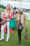 EMILY TARRANT; JILLY COOPER; , Cartier Queen's Cup. Guards Polo Club, Windsor Great Park. 17 June 2012