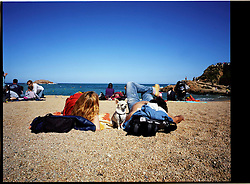 2012.Tossa de Mar, Girona.An afternoon at the beach.©Carmen Secanella