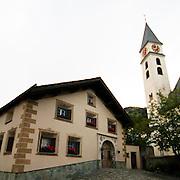 Centro storico di Silvaplana..Silvaplana Old town