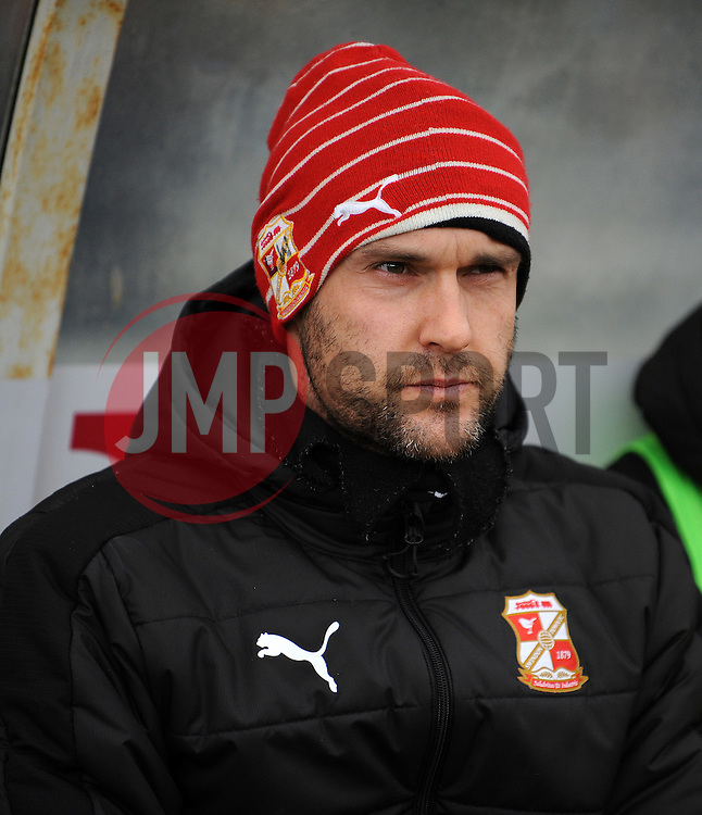Swindon Town manager Luke Williams - Mandatory by-line: Neil Brookman/JMP - 28/01/2017 - FOOTBALL - Memorial Stadium - Bristol, England - Bristol Rovers v Swindon Town - Sky Bet League One
