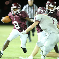 Okolona Deonte Hampton and the Chieftains took a 7-6 lead into halftime with a last score score in the first half.