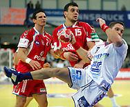 GEPA-26011050084 - INNSBRUCK,AUSTRIA,26.JAN.10 - SPORT DIVERS, HANDBALL - EHF Europameisterschaft, EURO 2010, Laenderspiel, Polen vs Tschechien. Bild zeigt Bartlomiej Jaszka , Michal Jurecki (POL) und Kamil Piskac (CZE). Foto: GEPA pictures/ Thomas Bachun.FOT. GEPA / WROFOTO.*** POLAND ONLY !!! ***