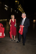 LUCY WORSLEY; LORD CHRIS SMITH, The £100,000 Art Fund Prize for the Museum of the Year,   Tate Modern, London. 1 July 2015