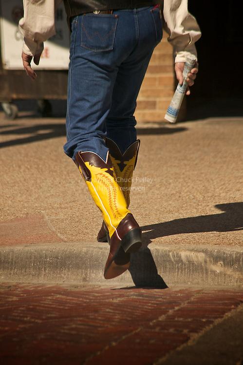 Cowbowy boots, Fort Worth, Texas | Chuck Pefley Designs