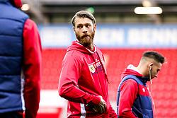 Nathan Baker of Bristol City arrives at Rotherham United - Mandatory by-line: Robbie Stephenson/JMP - 03/10/2018 - FOOTBALL - Aesseal New York Stadium - Rotherham, England - Rotherham United v Bristol City - Sky Bet Championship