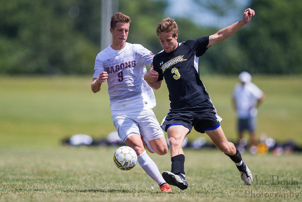 RCBC Men's Soccer vs Howard Community College at  Rowan College at Burlington County in Pemberton, NJ on Sunday August 28, 2016. (photo / Mat Boyle)