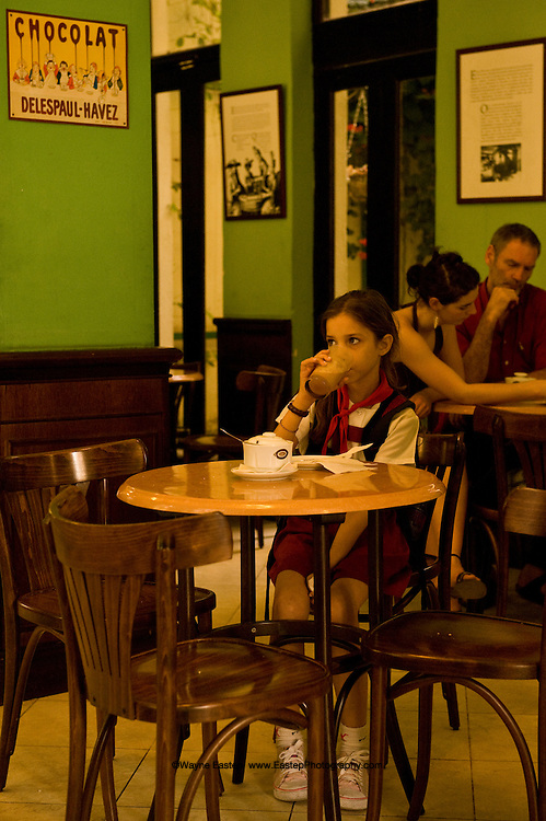 Chocolate Museum, Mercades Street, Old Havana, Cuba