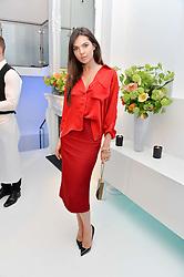 DOINA CIOBANU at a London Fashion Week Party hosted by rewardStyle at IceTank, 5 Grape Street, London on 21st February 2016.