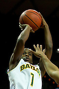 WACO, TX - JANUARY 28: Kenny Chery #1 of the Baylor Bears shoots the ball against the West Virginia Mountaineers on January 28, 2014 at the Ferrell Center in Waco, Texas.  (Photo by Cooper Neill/Getty Images) *** Local Caption *** Kenny Chery