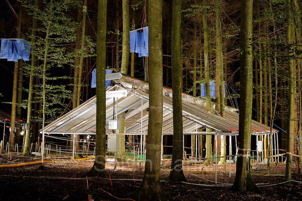 "Wood Research ""Kranzberger Waldlabor"" from the TU München, Germany"