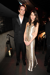 FRITZ VON WESTENHOLZ and CAROLINE SIEBER at The Love Ball hosted by Natalia Vodianova and Lucy Yeomans to raise funds for The Naked Heart Foundation held at The Round House, Chalk Farm, London on 23rd February 2010.