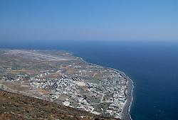 Santorini, Greece from above