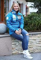 Alpint<br /> FIS World Cup<br /> Sölden Østerrike<br /> Foto: Gepa/Digitalsport<br /> NORWAY ONLY<br /> <br /> SOELDEN,AUSTRIA,20.OCT.16 - ALPINE SKIING - FIS World Cup season opening, Rettenbachferner, preview, Norges Skiforbund, ladies, press conference. Image shows Ragnhild Mowinckel (NOR).