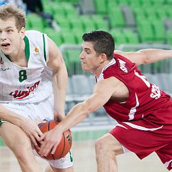 20121111: SLO, Basketball - ABA League, KK Union Olimpija vs Szolnoki Olaj