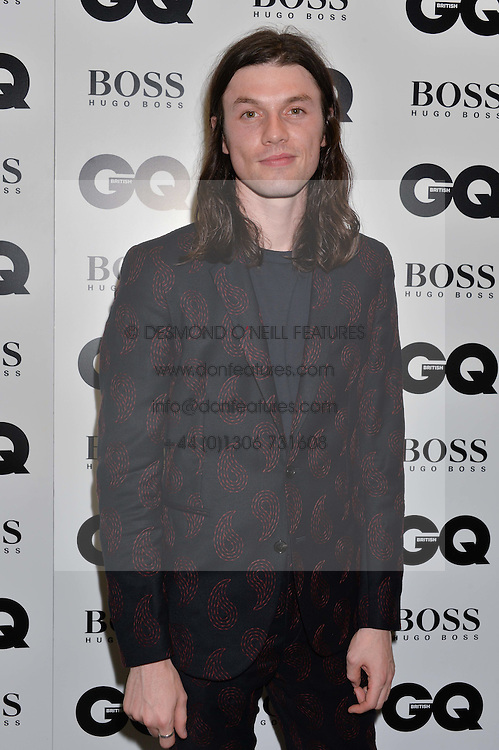 JAMES BAY at the GQ Men of The Year Awards 2016 in association with Hugo Boss held at Tate Modern, London on 6th September 2016.
