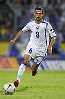 FOOTBALL - UEFA EURO 2012 - QUALIFYING - GROUP D - LUXEMBOURG v BOSNIA - 3/09/2010 - PHOTO ERIC BRETAGNON / DPPI - MIRALEM PJANIC (BOS)