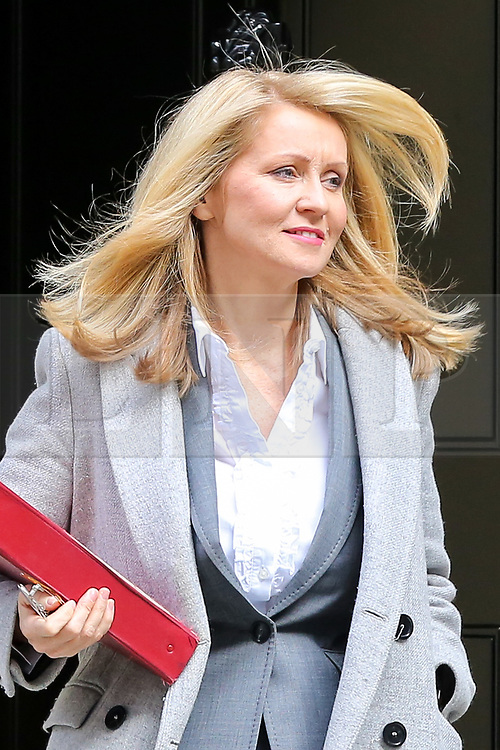 © Licensed to London News Pictures. 10/09/2019. London, UK. Minister of State for Housing ESTHER MCVEY departs from No 10 Downing Street after attending the weekly Cabinet Meeting. Photo credit: Dinendra Haria/LNP