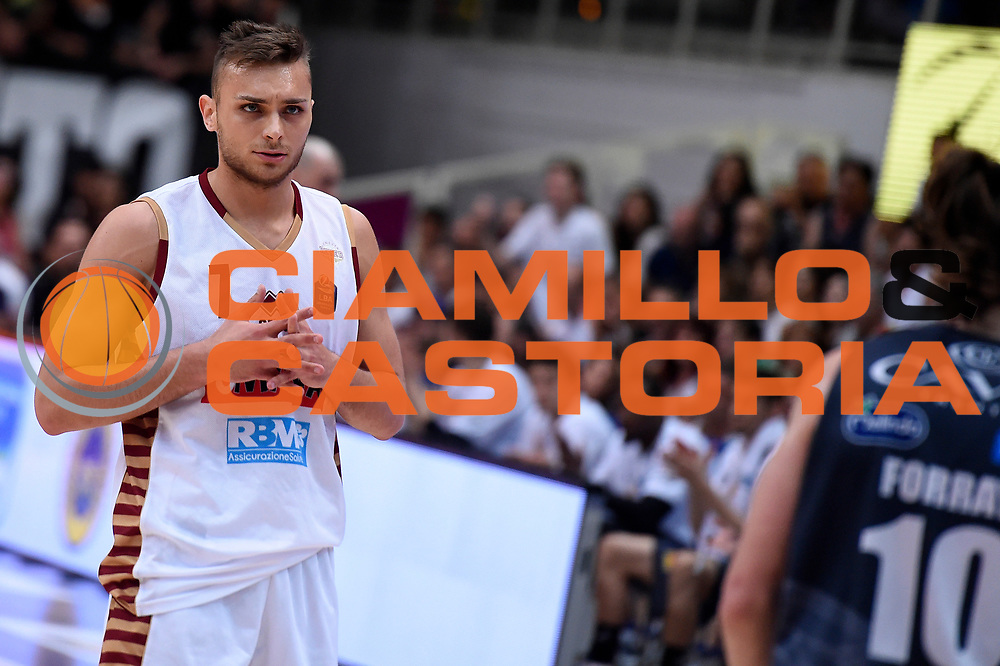 Stefano Tonut<br /> Dolomiti Energia Aquila Basket Trento - Umana Reyer Venezia<br /> Lega Basket Serie A 2016/2017<br /> Playoff, finale gara 4<br /> Trento, 16/06/2017<br /> Foto M.Ceretti / Ciamillo-Castoria