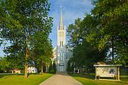 Saint Léon Church, established in 1894, Saint Leon, Manitoba, Canada