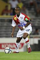 FOOTBALL - FRENCH CHAMPIONSHIP 2010/2011 - L1 - TOULOUSE FC v STADE BRESTOIS - 07/08/2010 - PHOTO ERIC BRETAGNON / DPPI - OSCAR EWOLO (BREST)