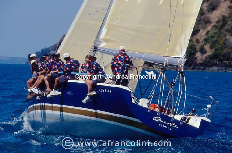Quest - Hamilton island race week 2001