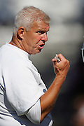 OXNARD, CA - AUGUST 8:  Head Coach Bill Parcells of the Dallas Cowboys points and gives orders during the Dallas Cowboys training camp on August 8, 2006 in Oxnard, California. ©Paul Anthony Spinelli *** Local Caption *** Bill Parcells
