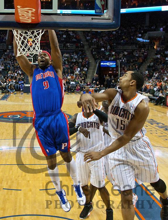 NBA: DEC 27 Pistons at Bobcats | Chris Keane Photography